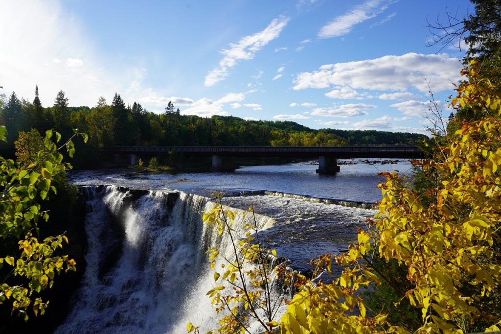 Kakabeka Falls near Thunder Bay, Ontario, 2nd highest in Ontario