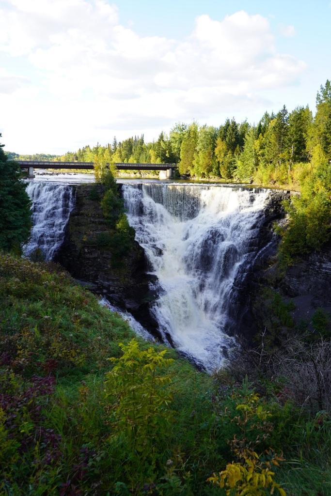 Kakabeka Falls. Nurin Merchant Simerg photos