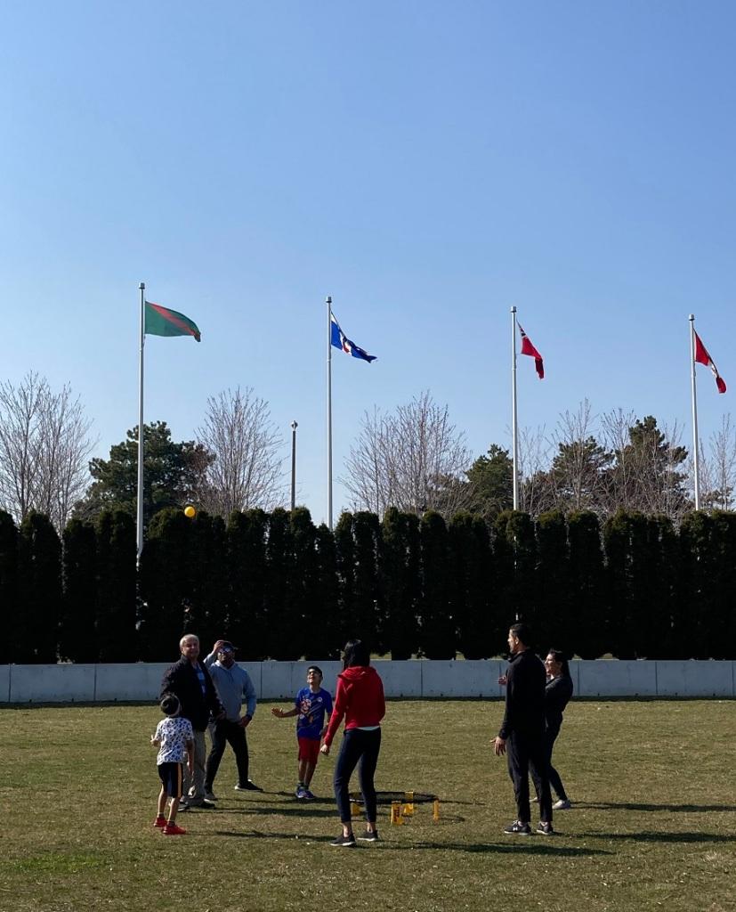 Spikeball at Aga Khan Park, Simergphotos Malik Merchant