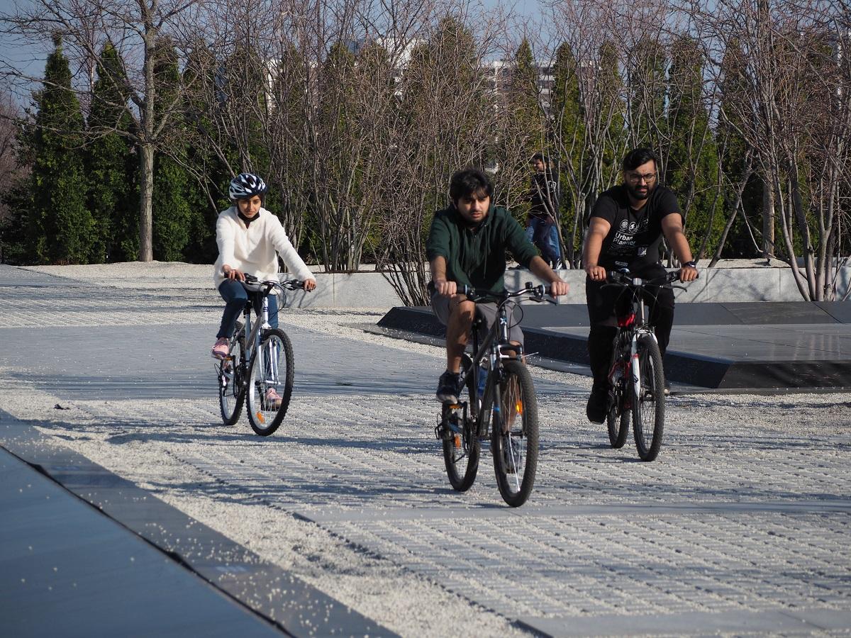 Aga Khan Park cycle ride