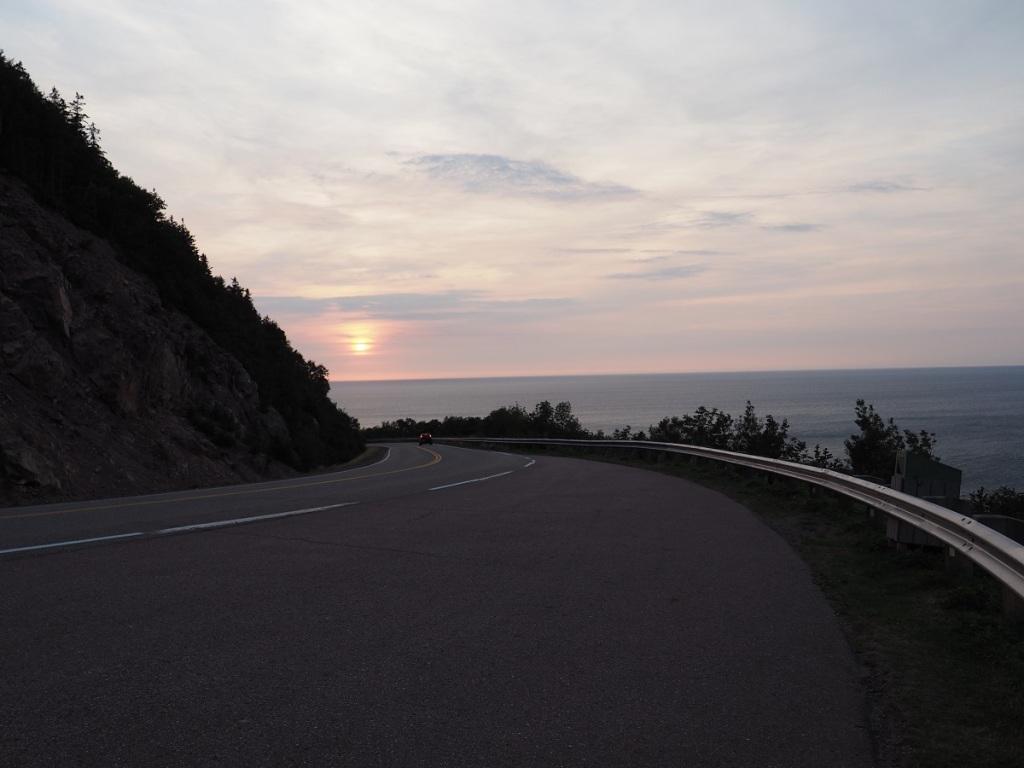 Cabot Trail sunset malik merchant simerg