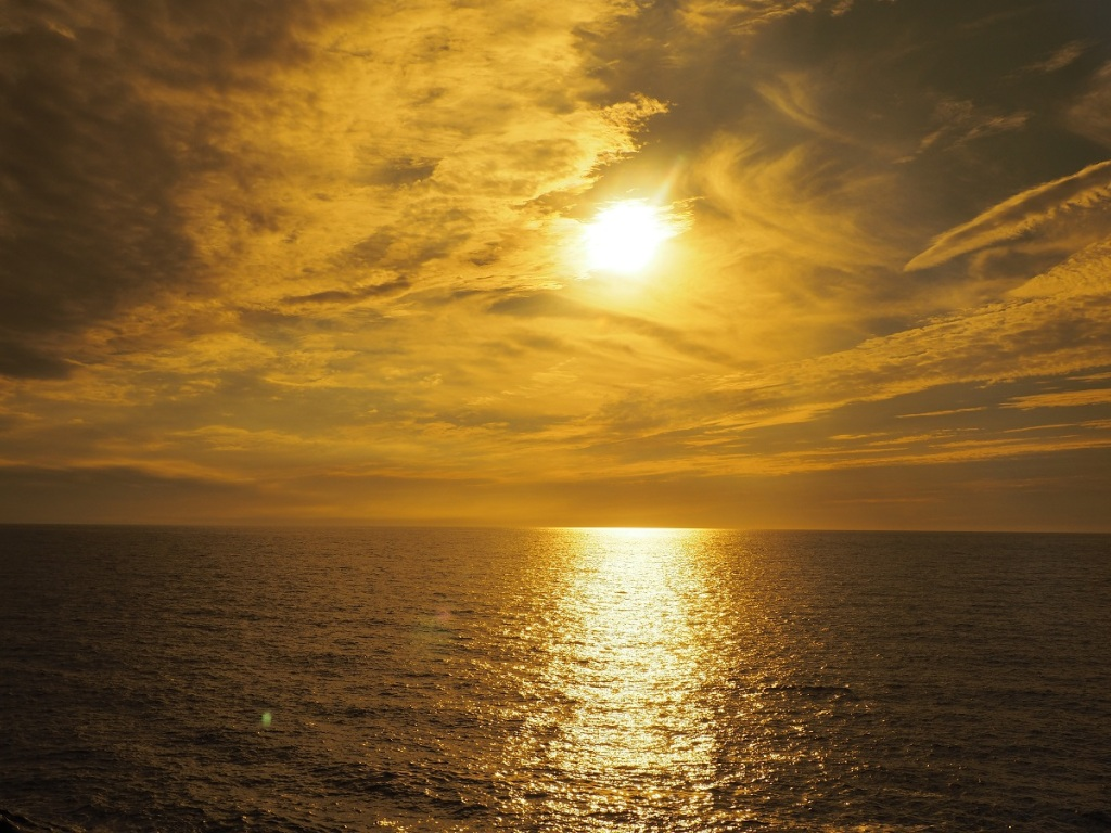 Sunset at Cabot Trail, Nova Scotia. September 10, 2015. Photo: © Malik Merchant / Simergphotos. Camera: Olympus E-M10.
