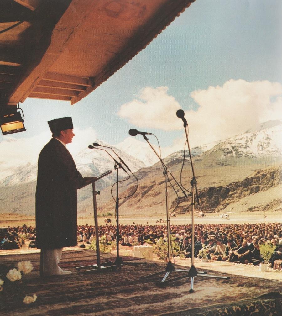 Aga Khan visit Badakhshan