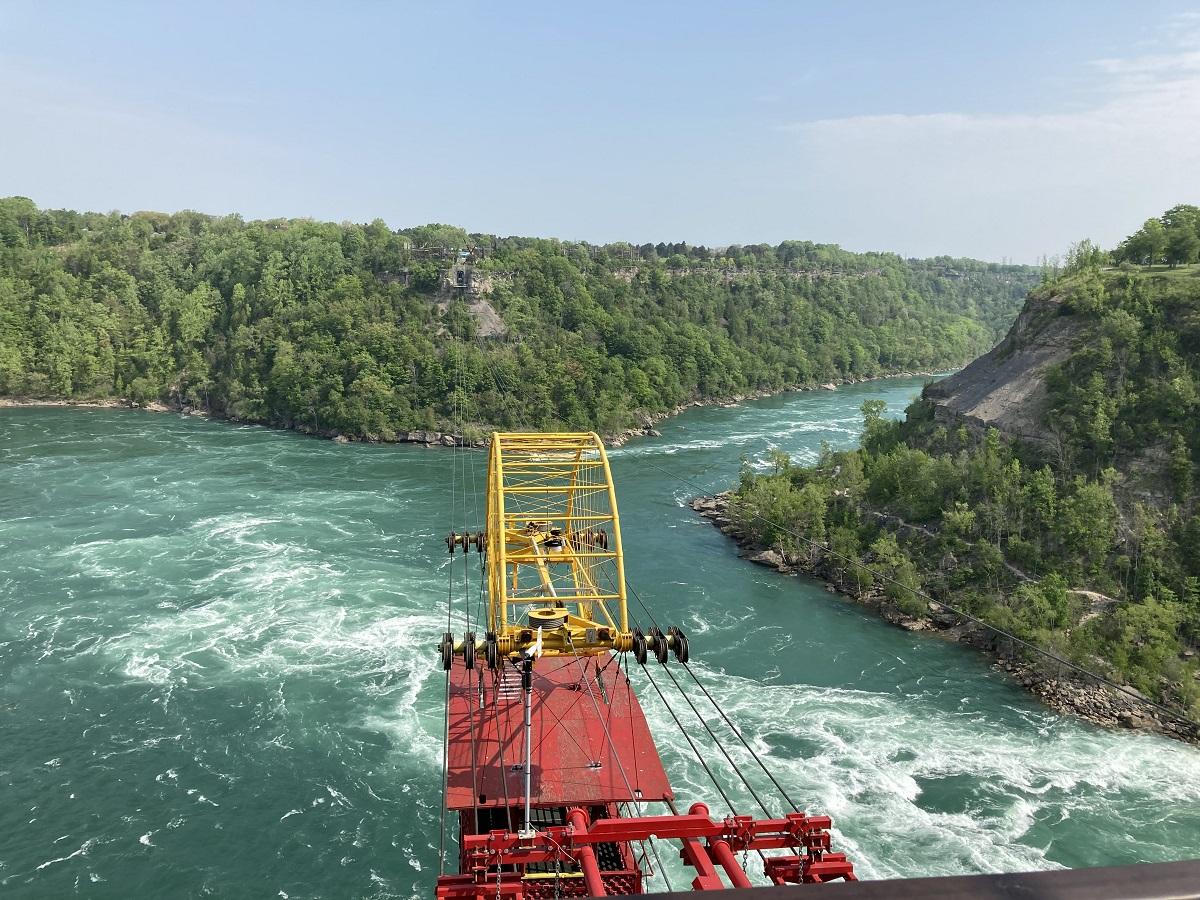 panish Car, the Niagara River Whirlpool