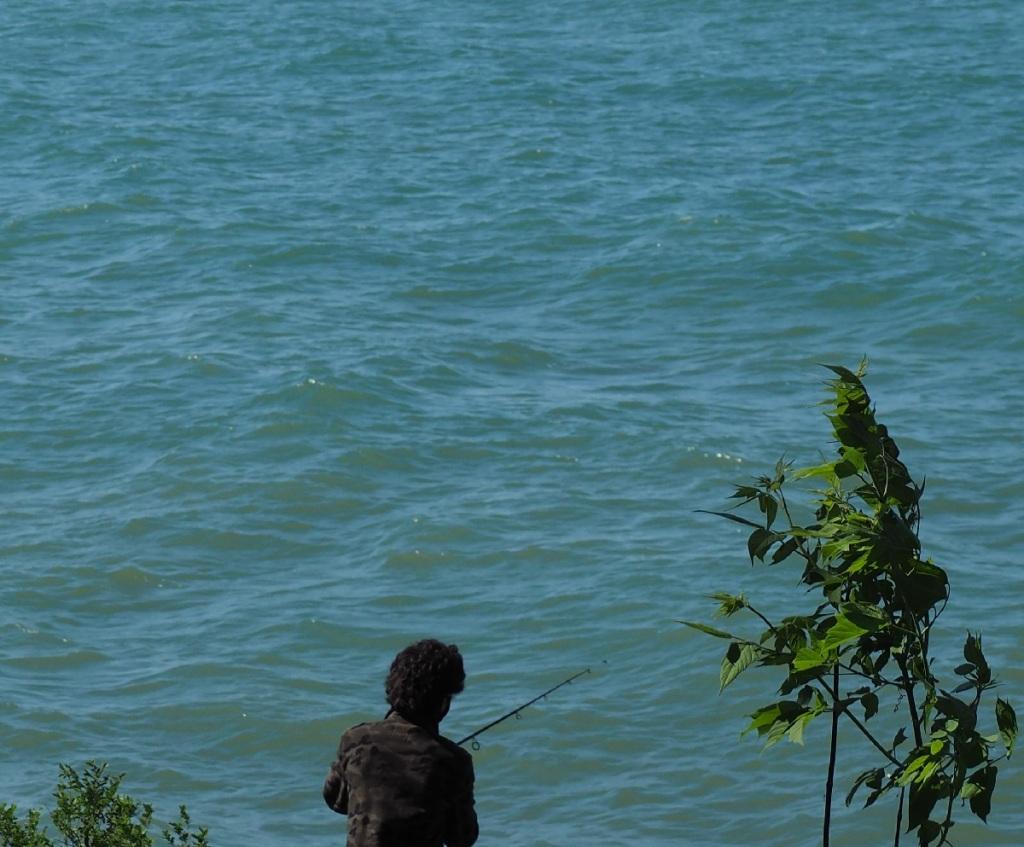 Fishing Niagara on the Lake, Lake Ontario Simerg Simergphotos, Photo of the Day Malik Merchant