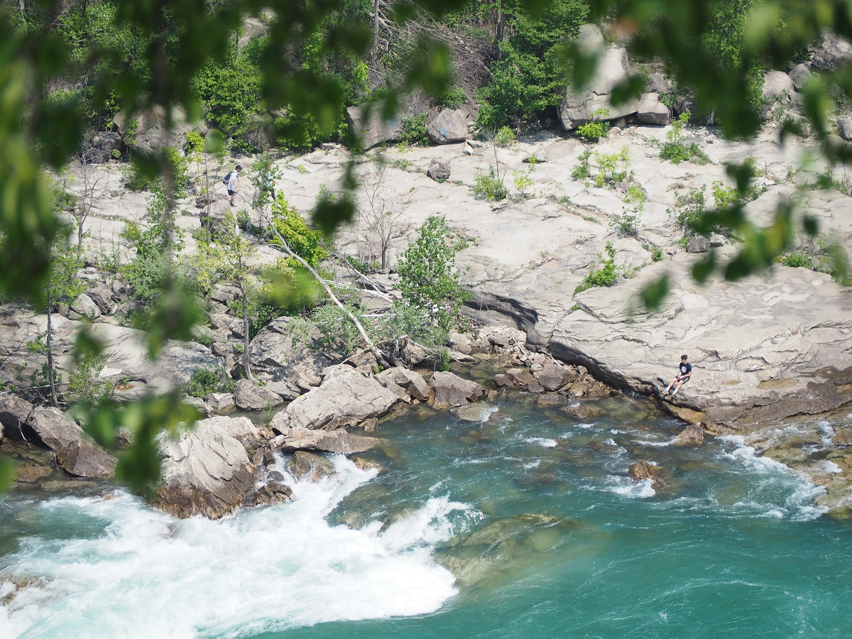 By the Whirlpool Rapids