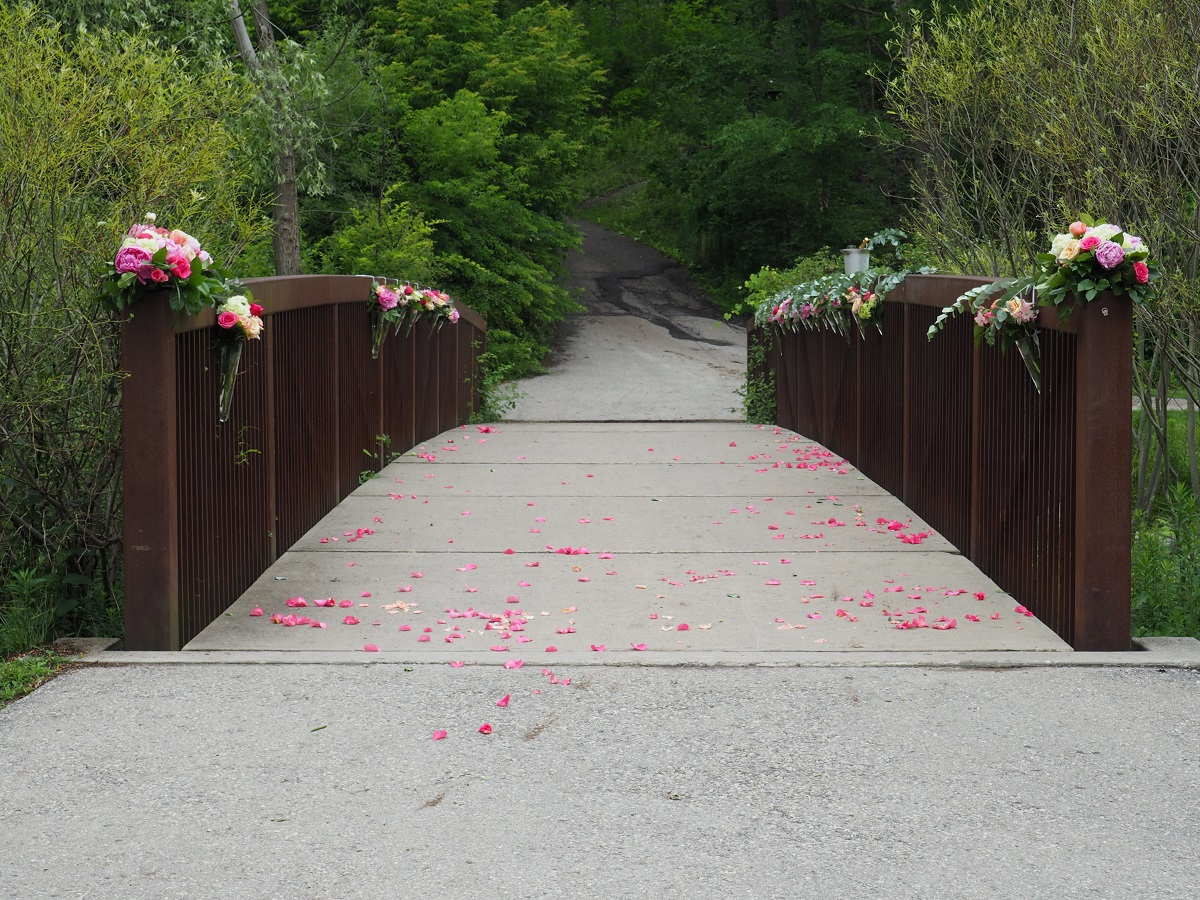 Proposal at edwards gardens