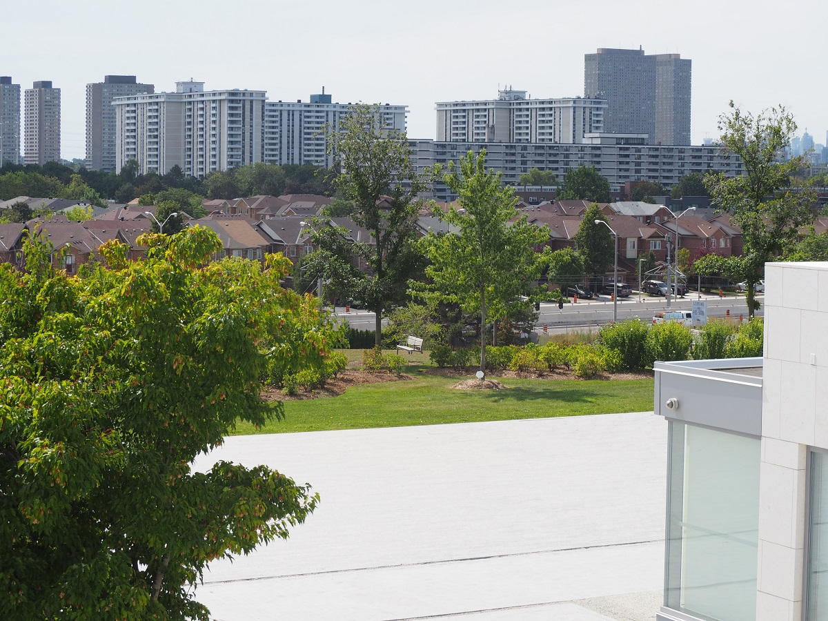 Residences near ismaili Centre Toronto.
